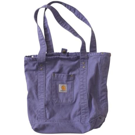 Carhartt Detroit Tote Bag - Sandstone Duck (For Women) in Blue Dusk