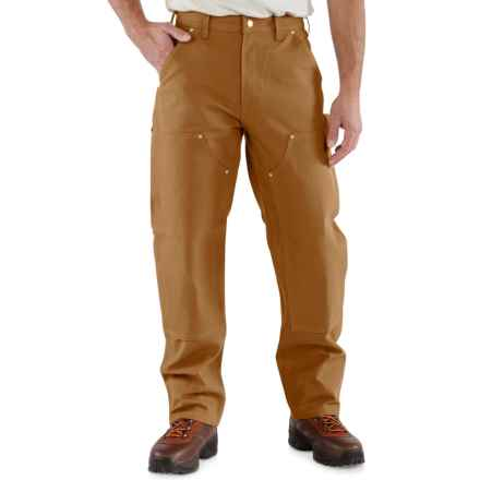Carhartt Double-Front Duck Jeans - Factory Seconds (For Men) in Carhartt Brown - 2nds