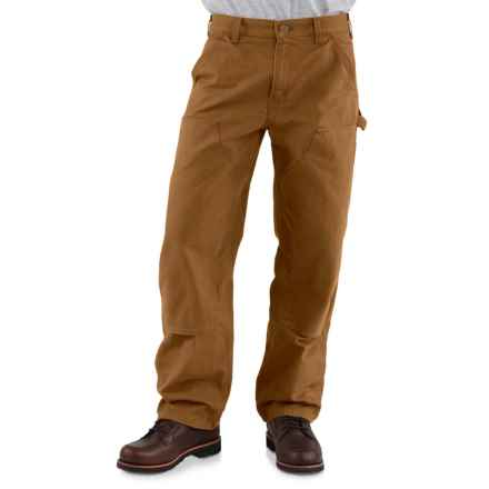 Carhartt Double-Front Dungaree Jeans - Factory Seconds (For Men) in Carhartt Brown - 2nds