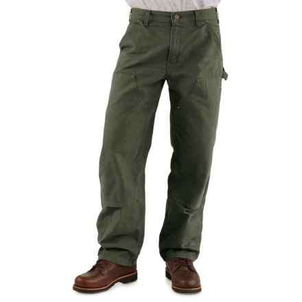 Carhartt Double-Front Dungaree Jeans - Factory Seconds (For Men) in Moss - 2nds