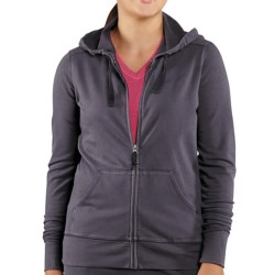 Carhartt Dover Track Jacket - Hooded (For Women) in Coal