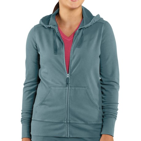 Carhartt Dover Track Jacket - Hooded (For Women) in Wintergreen
