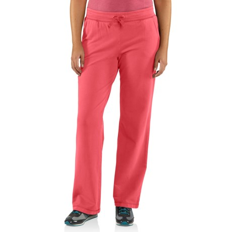 Carhartt Dover Track Pants (For Women) in Bright Pink
