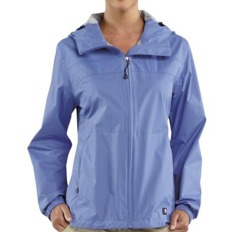 Carhartt Downburst Jacket - Waterproof (For Women) in Bright Blueberry