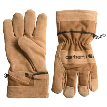 Carhartt Dozer Gloves (For Men and Women) in Brown Barley - Closeouts