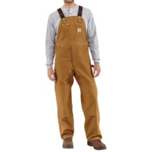 Carhartt Duck Bib Overalls  (For Men) in Carhartt Brown - 2nds