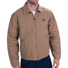 Carhartt Duck Detroit Jacket (For Men) in Saddle - Closeouts