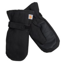 Carhartt Duck Mittens (For Kids) in Black - Closeouts
