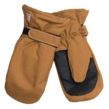 Carhartt Duck Mittens (For Kids) in Brown - Closeouts