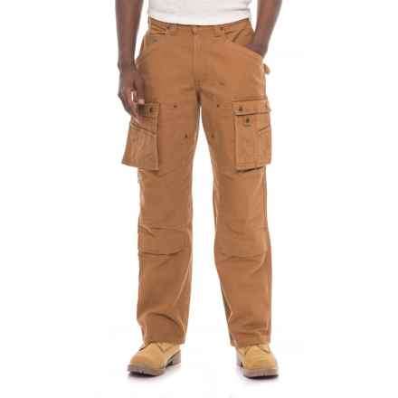 Carhartt Duck Multi-Pocket Tech Pants - Straight Leg, Factory 2nds (For Men) in Cahartt Brown - 2nds