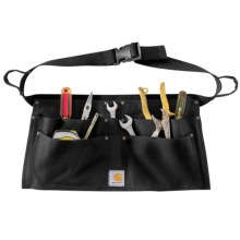 Carhartt Duck Nail Apron in Black - 2nds