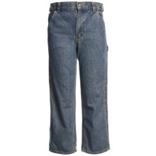 Carhartt Dungaree Jeans (For Little Boys) in Vintage Wash - Closeouts
