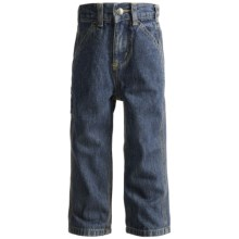 Carhartt Dungaree Jeans (For Toddler Boys) in Dark Blue - Closeouts