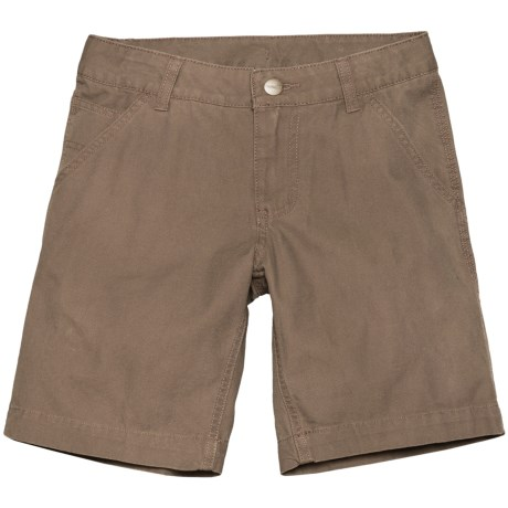 Carhartt Dungaree Shorts (For Little Boys) in Medium Brown