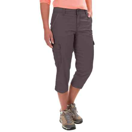 Carhartt El Paso Cargo Capris - Relaxed Fit, Factory Seconds (For Women) in Dark Shale - 2nds
