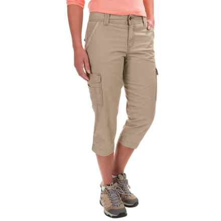Carhartt El Paso Cargo Capris - Relaxed Fit, Factory Seconds (For Women) in Field Khaki - 2nds