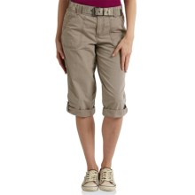 Carhartt El Paso Crop Pants - Relaxed Fit (For Women) in Field Khaki - 2nds