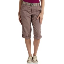 Carhartt El Paso Crop Pants - Relaxed Fit (For Women) in Light Raisin - 2nds