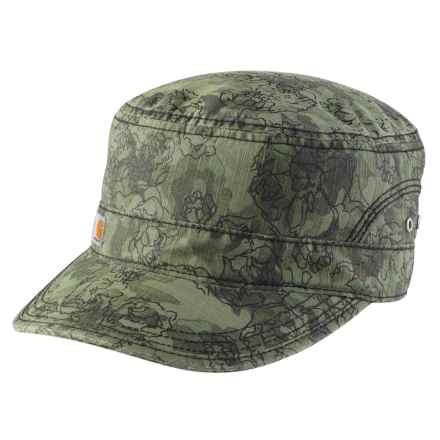 ccdf9e22d2652 Carhartt El Paso Printed Military Cap (For Women) in Olive - Closeouts