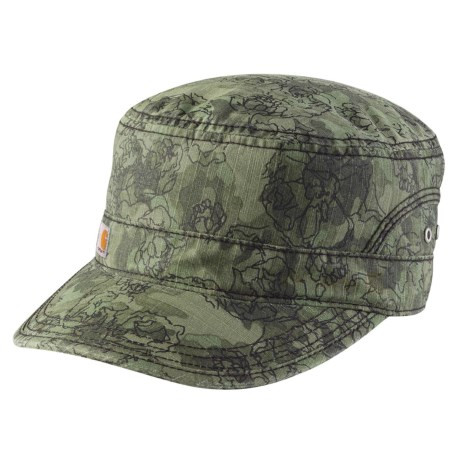 834ed58097e85 Carhartt El Paso Printed Military Cap (For Women) in Olive