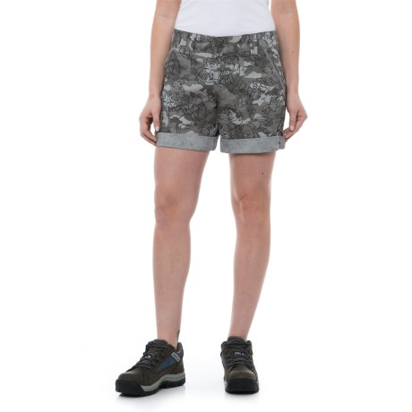 Carhartt El Paso Printed Shorts (For Women) in Asphalt