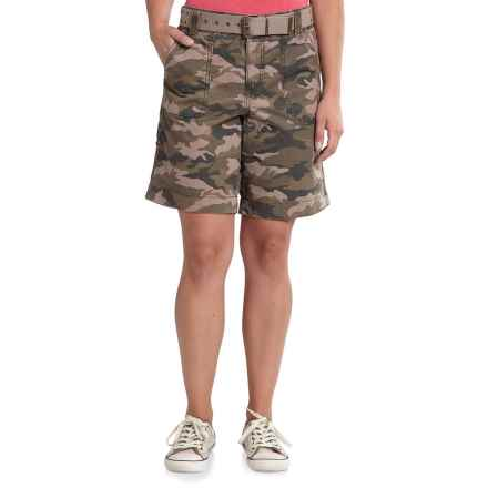 Carhartt El Paso Shorts - Factory Seconds (For Women) in Camo Green - 2nds