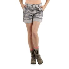 Carhartt El Paso Shorts (For Women) in Camo Grey - 2nds