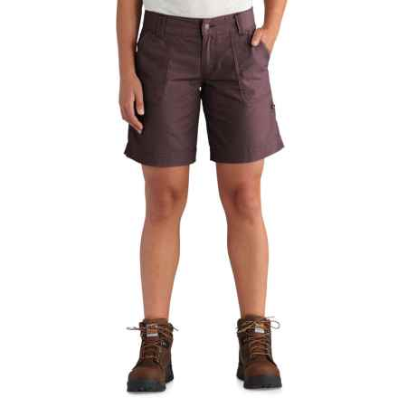 Carhartt El Paso Shorts (For Women) in Deep Wine - Closeouts