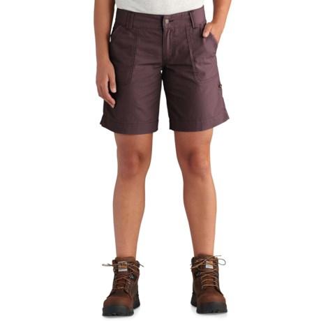 Carhartt El Paso Shorts (For Women) in Deep Wine