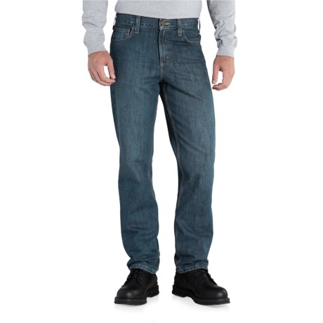 Carhartt Elton Traditional Fit Jeans - Straight Leg, Factory Seconds (For Men) in Trailblazer