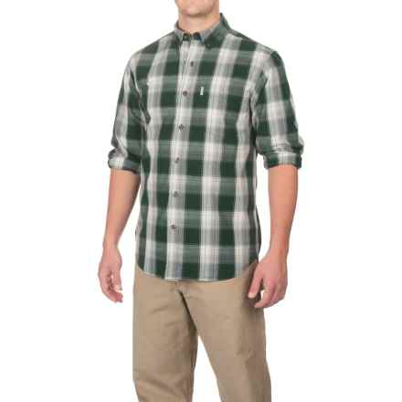 Carhartt Essential Plaid Shirt - Long Sleeve, Factory Seconds (For Men) in Canopy Green - 2nds