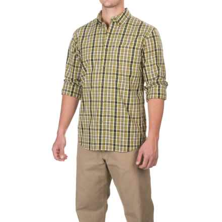 Carhartt Essential Plaid Shirt - Long Sleeve, Factory Seconds (For Men) in Olive - 2nds