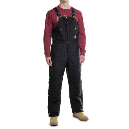 Carhartt Extreme Arctic Bib Overalls - Factory Seconds (For Men) in Black - 2nds