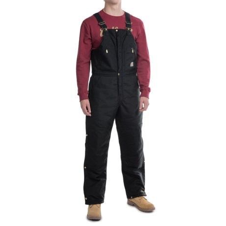 Carhartt Extreme Arctic Bib Overalls - Factory Seconds (For Men) in Black