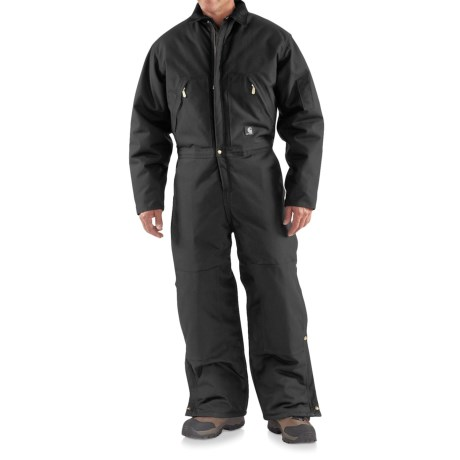 Carhartt Extreme Arctic Coveralls - Insulated (For Tall Men) in Black
