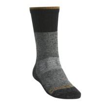 Carhartt Extreme Cold Weather Boot Socks - Mid Calf (For Men) in Heather Black - 2nds