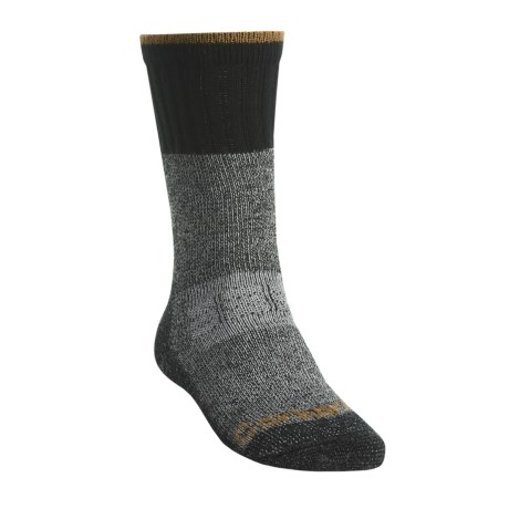 Carhartt Extreme Cold Weather Boot Socks - Mid Calf (For Men) in Heather Black