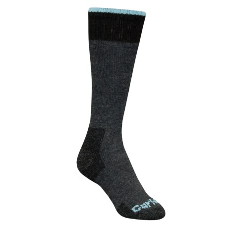 Carhartt Extremes All-Season Boot Socks - Midweight (For Women) in Charcoal