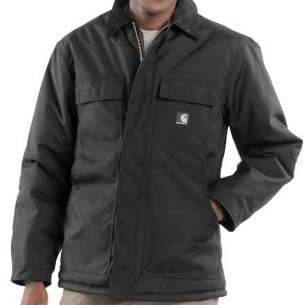 Carhartt Extremes Arctic Coat (For Tall Men) in Black - 2nds