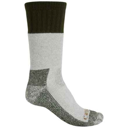 Carhartt Extremes® Cold Weather Boot Socks - Mid Calf (For Men) in Moss - Closeouts