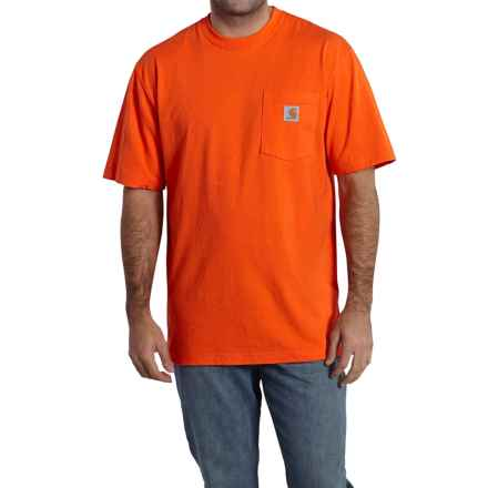 Carhartt Faded Camo Graphic T-Shirt - Short Sleeve, Factory 2nds (For Men) in Orange - 2nds