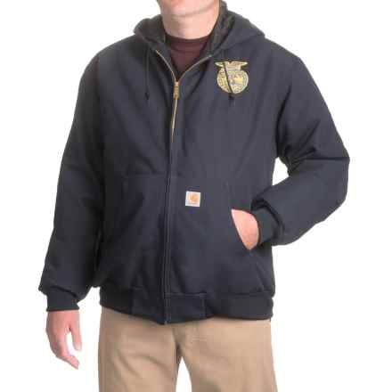 Carhartt FFA Active Jacket - Quilt Lined, Factory Seconds (For Big Men) in Midnight - 2nds