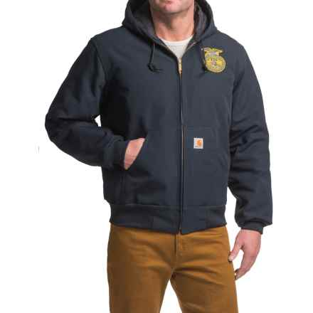 Carhartt FFA Active Jacket - Quilt Lined, Factory Seconds (For Men) in Midnight - 2nds