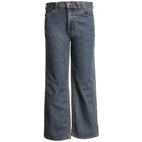 Carhartt Five-Pocket Jeans - Relaxed Fit (For Boys) in Dark Blue