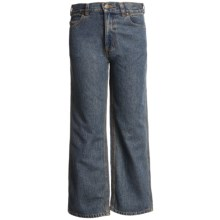 Carhartt Five-Pocket Jeans - Relaxed Fit (For Little Boys) in Dark Blue - Closeouts