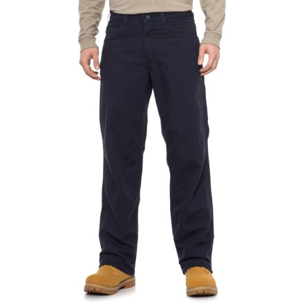 5709133d1a92 Carhartt Flame-Resistant Canvas Pants - Factory Seconds (For Men) in Dark  Navy