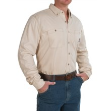 Carhartt Flame-Resistant Carhartt Force® Shirt - Long Sleeve (For Men) in Sand - 2nds