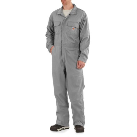 877ae46cfe62 Carhartt Flame-Resistant Deluxe Coveralls - Factory Seconds (For Big and Tall  Men)