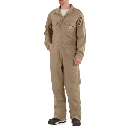 fe56a4e4c658 Carhartt Flame-Resistant Deluxe Coveralls - Factory Seconds (For Big and  Tall Men)