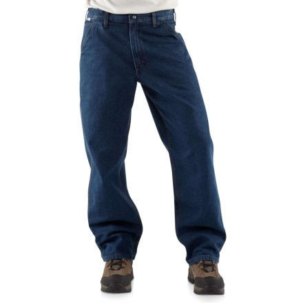 888c08024a7c Carhartt Flame Resistant Denim Dungarees - Factory Seconds (For Men) in  Denim - 2nds